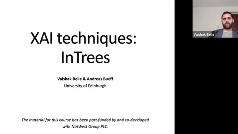 Thumbnail for entry XAI Lecture Recording: InTrees (Part 1)