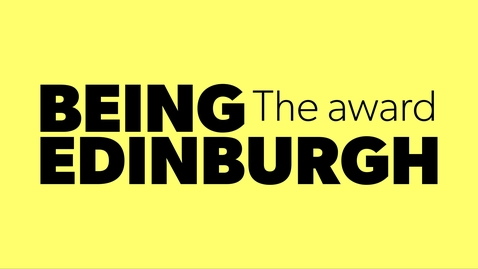 Thumbnail for entry Who is Being Edinburgh? Vote now.