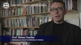 Thumbnail for entry Steven Yearley - Genomics Policy & Research Forum- Research In A Nutshell- School of Social and Political Science-20/01/2013