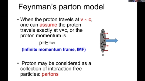 Thumbnail for entry REF2020: Xiangdong Ji- Large-momentum effective field theory for partons and light-cone physics