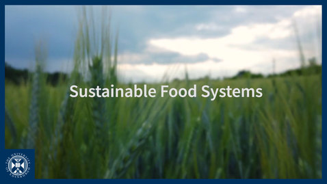 Thumbnail for entry Sustainable Food Systems