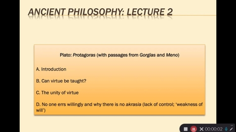 Thumbnail for entry Ancient Lecture 2.1