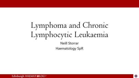 Thumbnail for entry Lymphomas and CLL