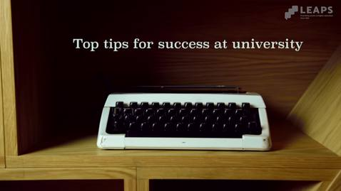 Thumbnail for entry Top Tip #5: Paul