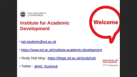 Thumbnail for entry Postgraduate Students - How to manage your reading