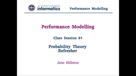 Thumbnail for entry Session 1: Probability Theory Refresher