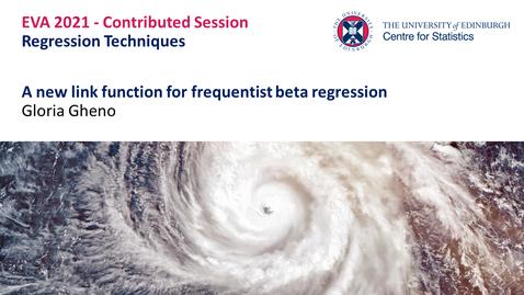 Thumbnail for entry Regression Techniques: Gloria Gheno