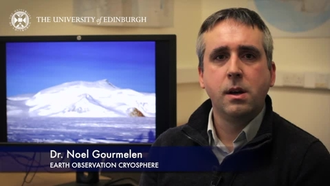 Thumbnail for entry Noel Gourmelen - Earth Observation Cryosphere- Research In A Nutshell - School of GeoSciences -12/04/2014