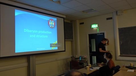 Exotic Hadron Spectroscopy 2017 -  d* photo-induced reactions, Dr. Mikhail Bashkanov (Edinburgh)