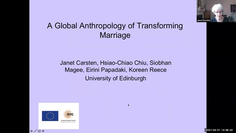 Thumbnail for entry CRFR Informal Seminar - Marriage in Past, Present and Future Tense