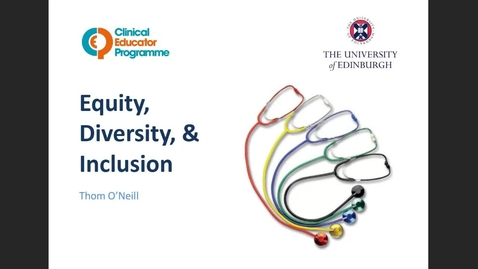 Thumbnail for entry Equity, Diversity and Inclusion 2.8.21