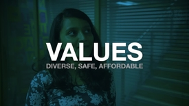 Thumbnail for entry Values: Diverse, Safe, Affordable
