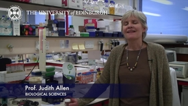 Thumbnail for entry Judi Allen - Biological Sciences- Research In A Nutshell - School of Biological Sciences -14/11/2012