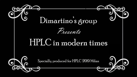 Thumbnail for entry Dr Simone Dimartino's Group HPLC Conference Video: 3D printing Milan Cathedral for liquid separation