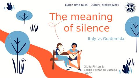 Thumbnail for entry The meaning of silence - Italy vs Guatemala