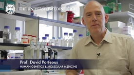Thumbnail for entry David Porteous -Human Genetics & Molecular Medicine-Research In A Nutshell- MRC Institute of Genetic and Molecular Medicine-13/11/2012
