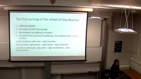 Thumbnail for entry 'The Buddha's first sermon' - Dr Naomi Appleton