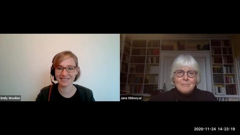 Thumbnail for entry Interdisciplinary Conversations with Prof. Jane Ohlmeyer - 4