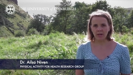 Thumbnail for entry Ailsa Niven-Physical Activity For Health Research Group-Research In A Nutshell-The Moray House School of Education-31/08/2012