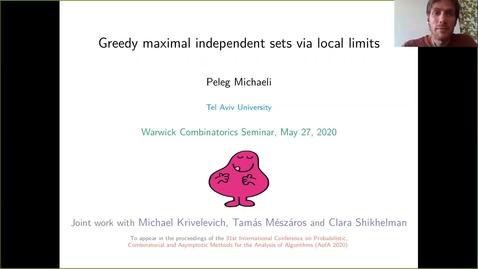 Thumbnail for entry Warwick Combinatorics: Peleg Michaeli