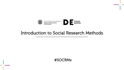 Thumbnail for entry Introduction to Social Research Methods Trailer
