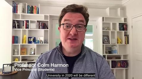 Thumbnail for entry Professor Colm Harmon - teaching at Edinburgh