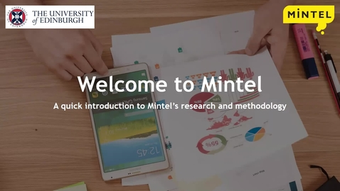 Thumbnail for entry Mintel's research and methodology