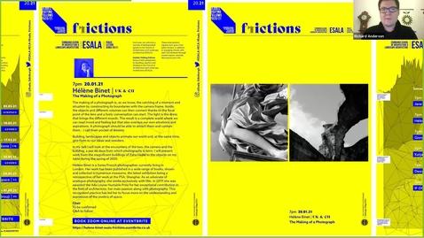 Thumbnail for entry The Making of a Photograph - Hélène Binet( ESALA Public Lecture)