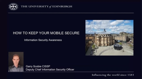 Thumbnail for entry (UG and PG) How-to keep your mobile device secure