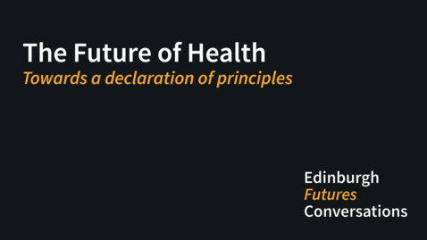 Thumbnail for entry Towards a declaration of principles
