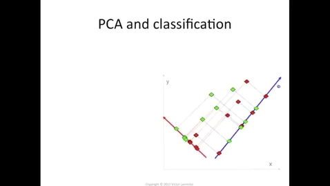 Thumbnail for entry Classification with PCA features