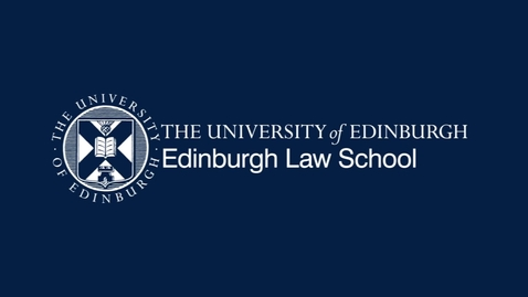Thumbnail for entry Brodies Environmental Law Lecture: Dr Victoria Jenkins