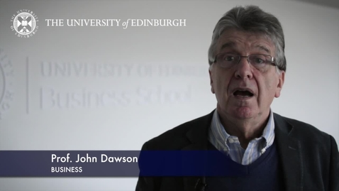 Thumbnail for entry John Dawson -Business -Research In A Nutshell-Business School-24/01/2013