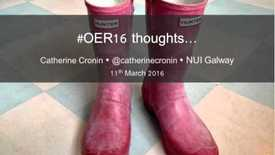 Thumbnail for entry OER16: Preview and publicity
