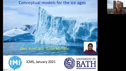 Thumbnail for entry Conceptual models for the ice ages - Chris Budd