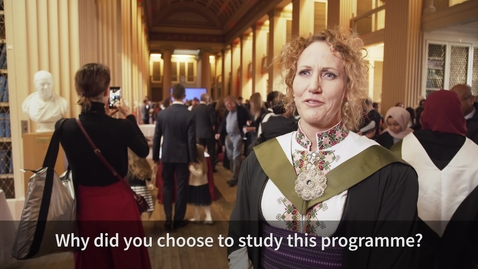 Thumbnail for entry Hear from one of our Clinical Education Graduates