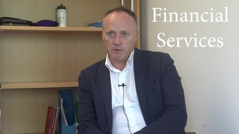 Thumbnail for entry The Financial Services Sector