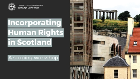 Thumbnail for entry Human Rights in Scotland