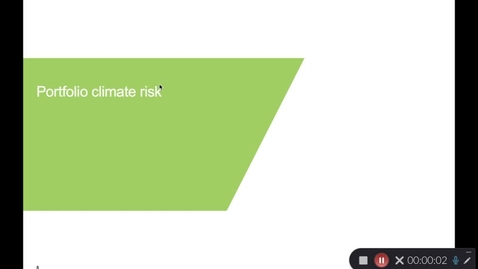 Thumbnail for entry 1.2 Climate Risk and Net Zero - defining climate risk and Net Zero concepts