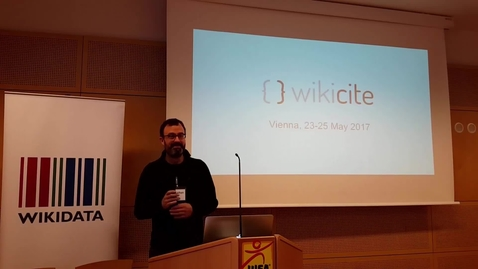 Thumbnail for entry Welcome to Wikicite 2017 - introduction by Jonathan Dugan and Rachel Farrand