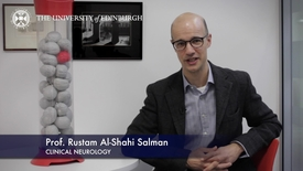 Thumbnail for entry Rustam Al-Shahi Salman - Clinical Neurology - Research In A Nutshell - Queen's Medical Research Institute -20/05/2015