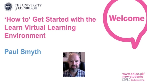 Thumbnail for entry How-to Get Started with the Learn Virtual Learning Environment