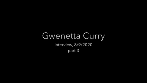 Thumbnail for entry Curry interview part 3