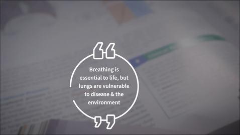 Thumbnail for entry Chronic Respiratory MOOC Trailer