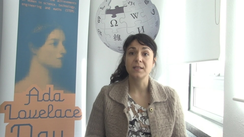 Thumbnail for entry Wikipedia and Women in STEM - Athina Frantzana, PhD student at the School of Physics and Astronomy