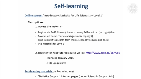 Thumbnail for entry 16. Data Management & Self-Learning