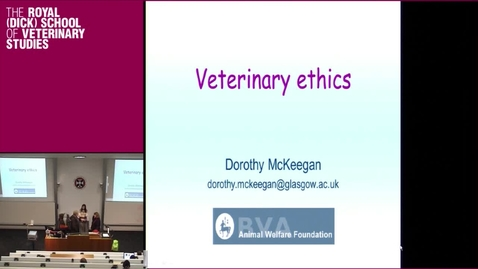 Thumbnail for entry Veterinary and professional ethics