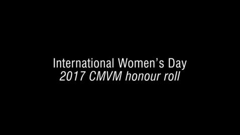 Thumbnail for entry CMVM honour roll 2017_FINAL