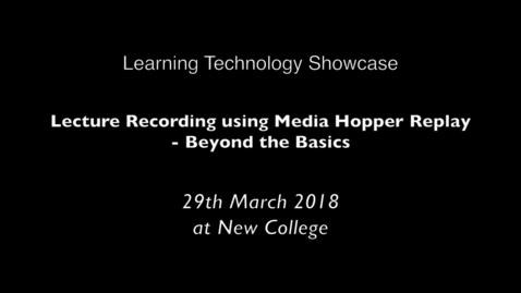 Thumbnail for entry Learning Tech Showcase promo 3_18