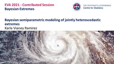 Thumbnail for entry Bayesian Extremes: Karla Vianey Ramirez